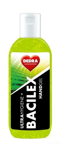 BB01701-Čistiaci gél na ruky, 65% alkoholu, 100 ml, handGEL BACILEX ultraHYGIENE +