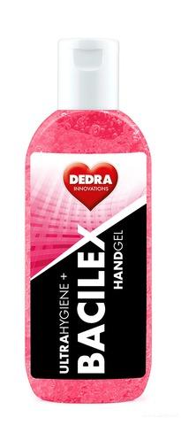 BB01731-Čistiaci gél na ruky, 65% alkoholu, 100 ml, handGEL BACILEX ultraHYGIENE +