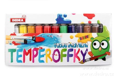 DA6112-12 farieb TEMPEROFFKY vodou riediteľné