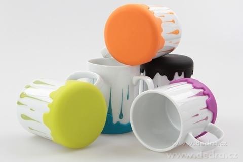 DA6171-Veľký porcelánový hrnček hrnček var! fuchsiovej