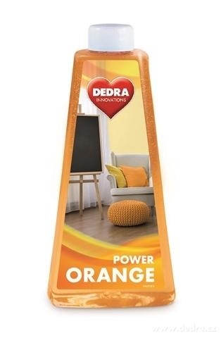 HL0123-ORANGE POWER univerzálny umývací prostriedok na všetky typy podláh s pomarančovým olejom
