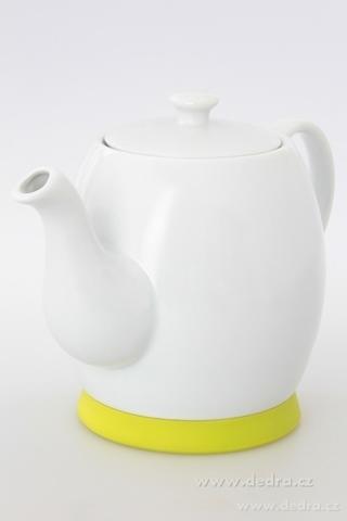 DA6210-Porcelánová kanvica jasne zelená