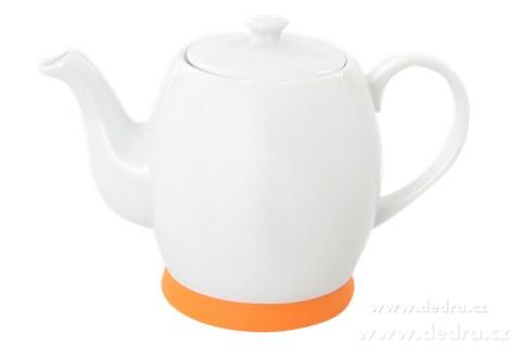 DA6212-Porcelánová kanvica oranžová