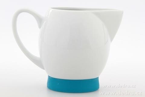 DA6223-Porcelánová mliečenka tyrkysová
