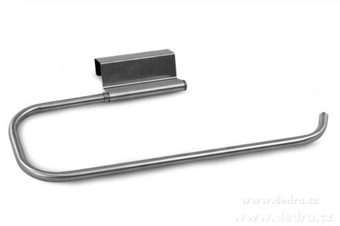 DA6630-UTĚRKODRŽADLO na papierové aj látkové utierky, zavesí sa na dvierka kuchynskej linky