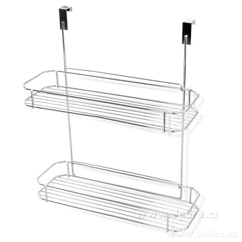 DA6631-Závesná polička do sprchy alebo na dvierka kuchynskej linky