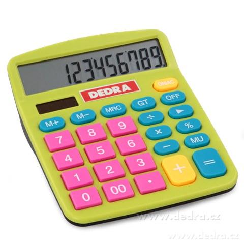 DA6953-Kalkulačka pre rebelov farebná