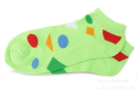 DA6791-3 pack ponožky REBELS - geom.tvary