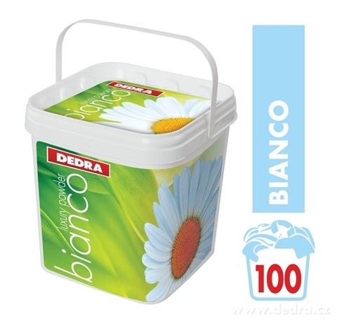 TB00051-BIANCO prací prášok na biele a svetlé prádlo, koncentrovaný, v plastovom boxe