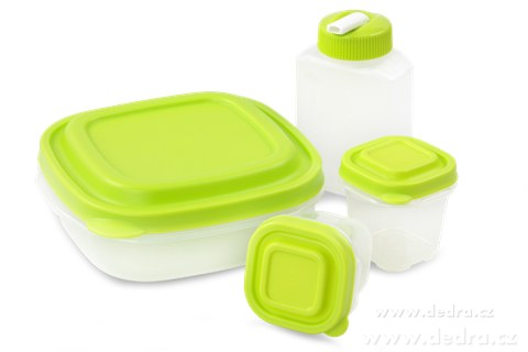 DA6877-4ks BOX 2x 120ml, 710ml, 270ml špeciálny plast