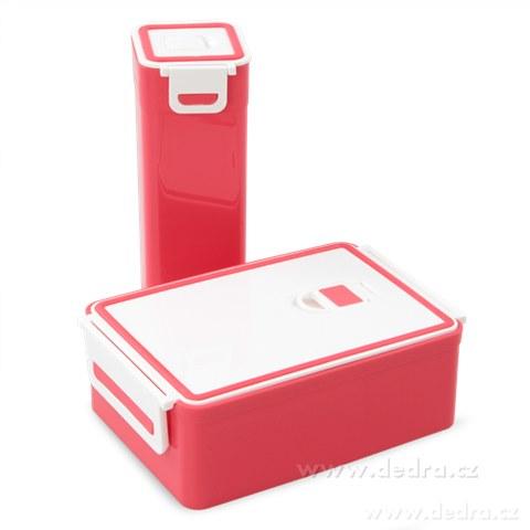 DA68803-SVAČINÁTORY sada 2ks vzduchotesných boxov na potraviny, jahôd.