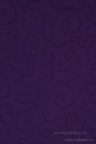 DA70556-Obrus na stôl 140 x 140 cm kráľovsky fialový