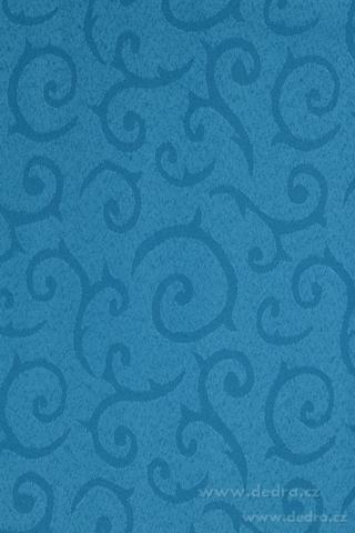 DA70557-Obrus na stôl 140 x 140 cm nebesky modrý