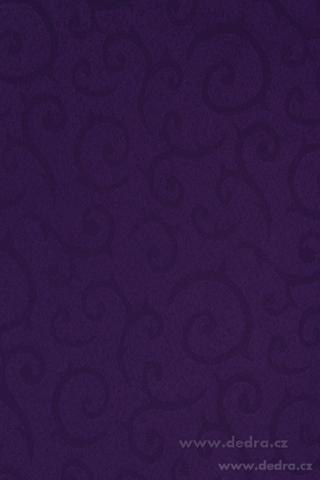 DA70566-Obrus na stôl 140 x 180 cm kráľovsky fialový