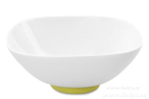 """DA69711-Porcelánová misa """"XXL 2600 ml, jasne zelená porcelán / silikon"""