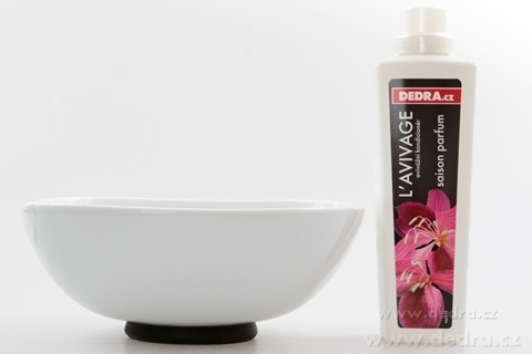 "DA69714-Porcelánová misa ""XXL 2600 ml, čierna porcelán / silikon"
