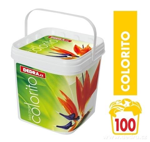 TC00131-COLORIT prací prášok na farebnú bielizeň koncentrovaný, v plastovom boxe