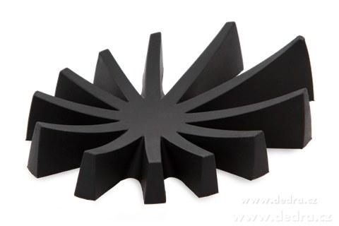 DA71431-Mýdlovník čierny stojan na tuhé mydlá silikón