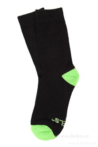 FC71652-Sada 3 párov vysokých ponožiek REBELS veľkosť 41-46