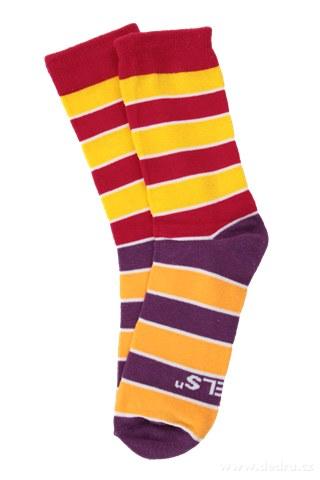 FC71653-Sada 3 párov vysokých ponožiek REBELS veľkosť 38-42