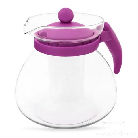 DA71812-Sklenená kanvica fialová, 1500 ml