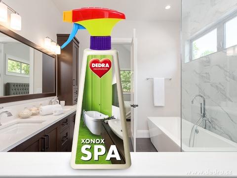 NW0079-Intenzívny čistič na kúpeľne XONOX SPA, 500 ml