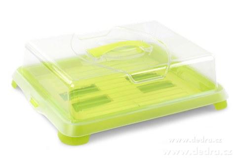 DA72451-XXL samo-chladiaci vodnesfšecko na chlebíčky, zákusky a jedlo jasne zelený