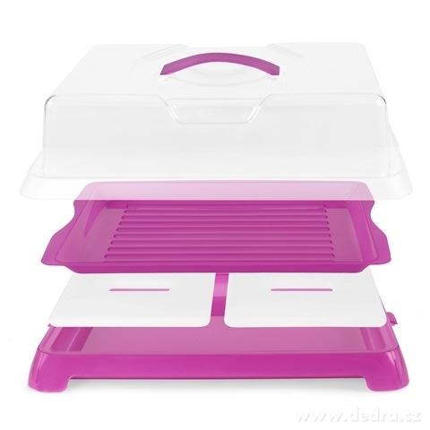 DA72452-XXL samo-chladiaci vodnesfšecko na chlebíčky, zákusky a jedlo fialový