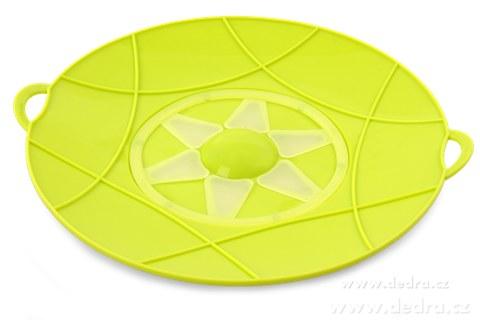 DA74361-30 cm nepřetékající univerzálne pokrievka jasne zelená