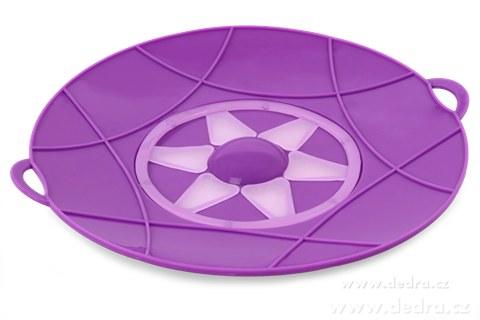 DA74362-30 cm nepřetékající univerzálne pokrievka fialová