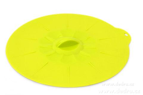 DA74981-FCUCPOKLICE 27 cm silikónová pokrievka jasne zelená