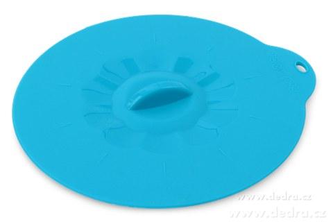 DA74985-FCUCPOKLICE 10,5 cm silikónová pokrievka tyrkysová