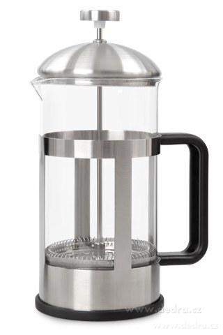 DA73697-XL FRENCH PRESS kanvica na čaj a kávu nerez