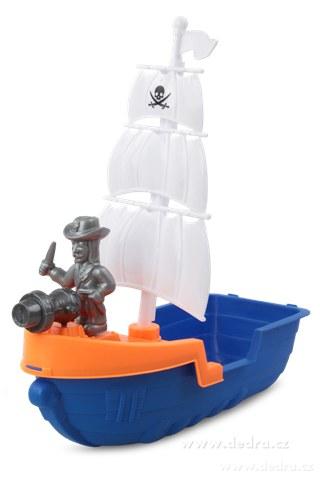 DA78471-Pirátska plachetnica XXL 9 dielny set