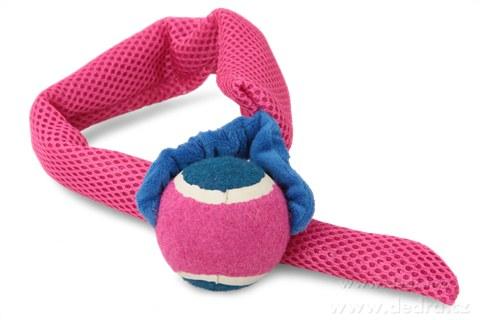 DA78504-Hádzadlá - aportovacie hračka 2v1 ružová
