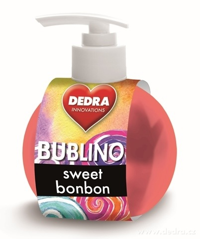 BA0328-Bubliny sweet bonbón gél-krémové mydlo