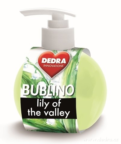 BA0330-Bubliny Lily of the valley gél-krémové mydlo