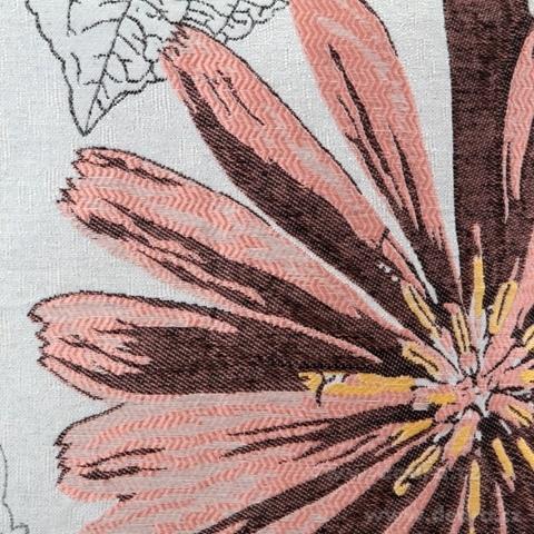 FC81174-Gobelíny poťah na vankúš obojstranný pink flower
