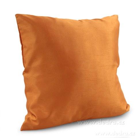 DA81453-Poťah na vankúš oranžovo-medený