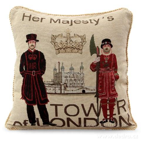 FC8342-Gobelíny poťah na vankúš obojstranný Tower of London