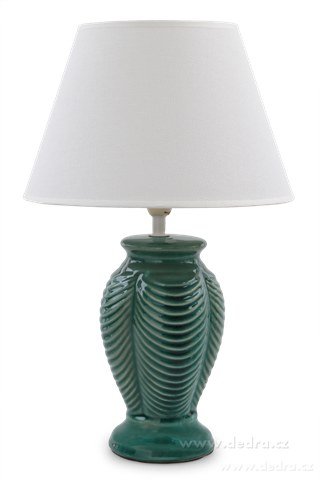 FC83501-NATURE stolná lampa s keramickým stojanom