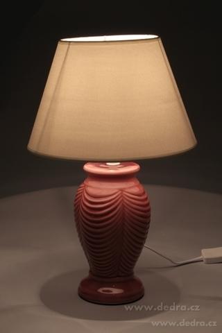 FC83503-NATURE stolná lampa s keramickým stojanom