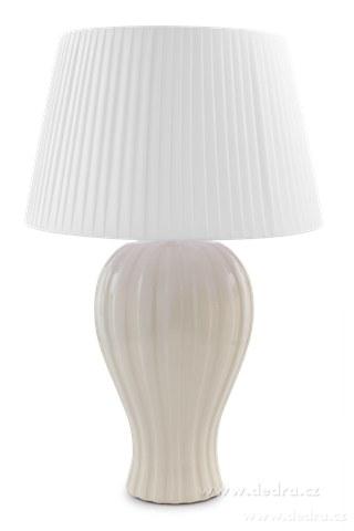 FC83522-BELL XXL stolná lampa krémová - výška 62 cm
