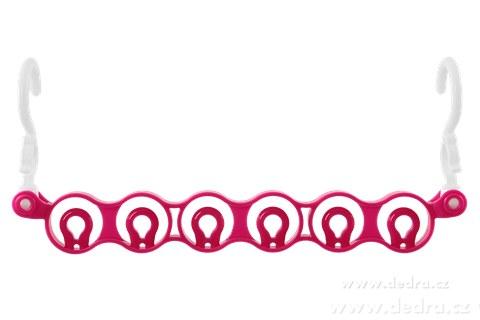 DA83751-6ti ramínkátor úsporný vešiak na ramienka ružový