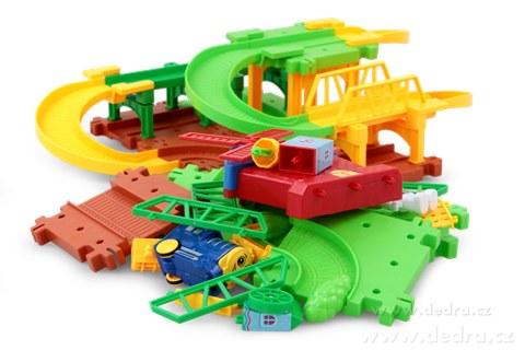 DA83853-Železničná dráha s veterným mlynom hračka